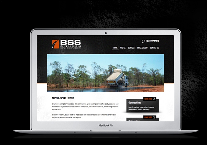 Bitumen Sealing Services: Brochure Website | CVW Creative Portfolio