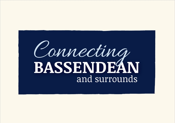 Connecting Bassendean and surrounds logo design